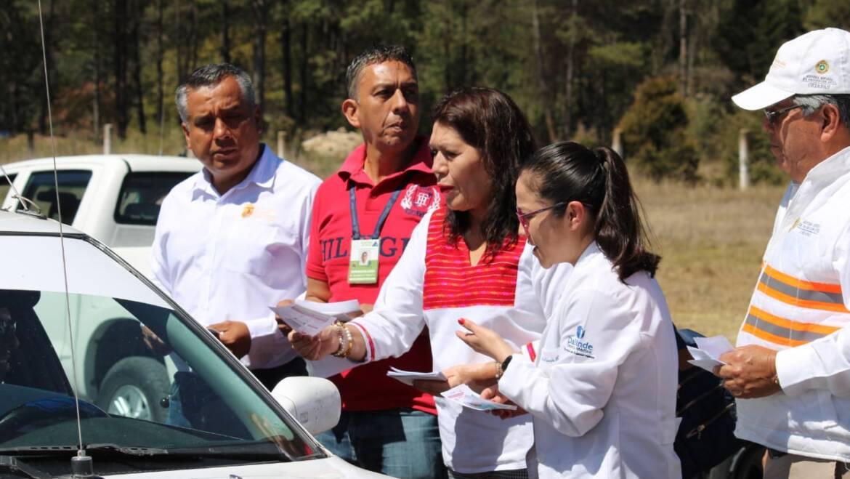 Instalan Unidades de Inspección e Información Sanitaria en las entradas de San Cristóbal de Las Casas