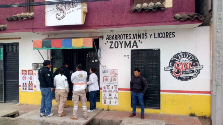 Protección Civil Municipal participa activamente en campaña de prevención por Covid-19