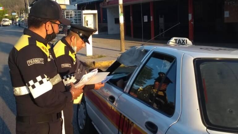 Policía y Tránsito Municipal de San Cristóbal Las Casas implementan acciones preventivas frente al COVID-19