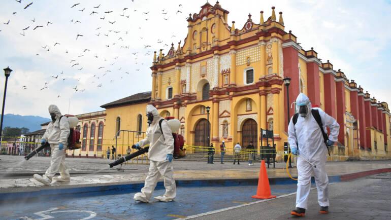 Inicia campaña de sanitización en el municipio de San Cristóbal de Las Casas