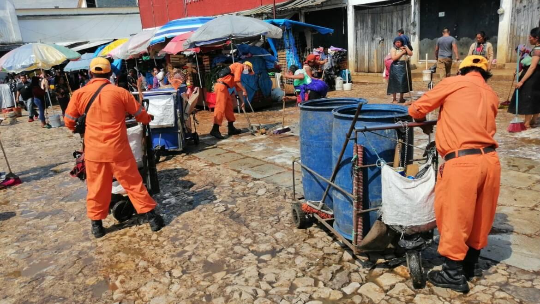 Continúa Limpia Municipal acciones de recolección de residuos