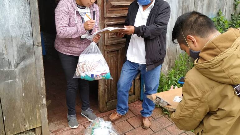 Entrega Ayuntamiento apoyo humanitario para personas en extrema vulnerabilidad