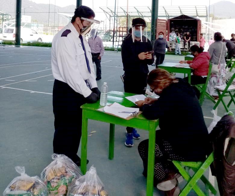 Concluye Ayuntamiento de San Cristóbal entrega de ayuda humanitaria a trabajadores del sector turístico