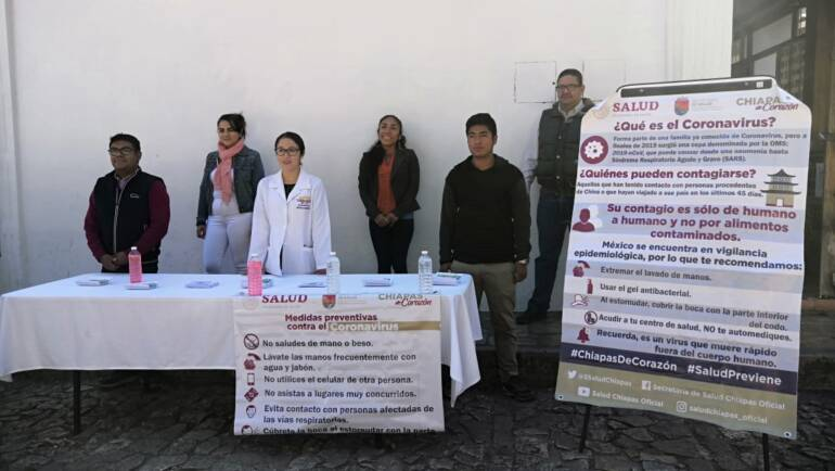 Instala Ayuntamiento de San Cristóbal de Las Casas Unidades de inspección e información sanitaria en puntos estratégicos de la ciudad