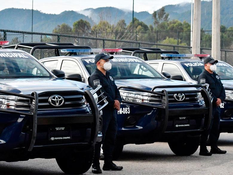 Ayuntamiento de San Cristóbal de Las Casas adquiere nuevo equipamiento para la Policía Municipal
