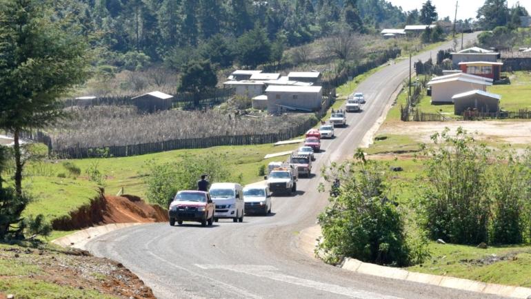 Retornan a Napité en San Cristóbal de Las Casas desplazados por motivos religiosos
