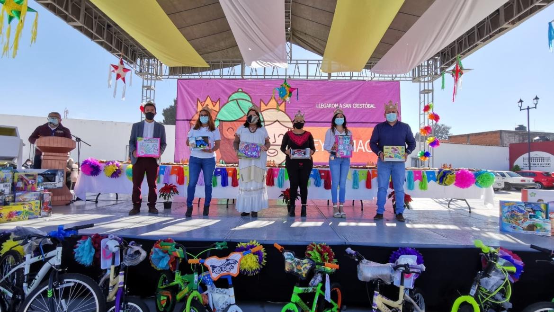 Celebra Ayuntamiento de San Cristóbal día de Reyes Magos de manera virtual