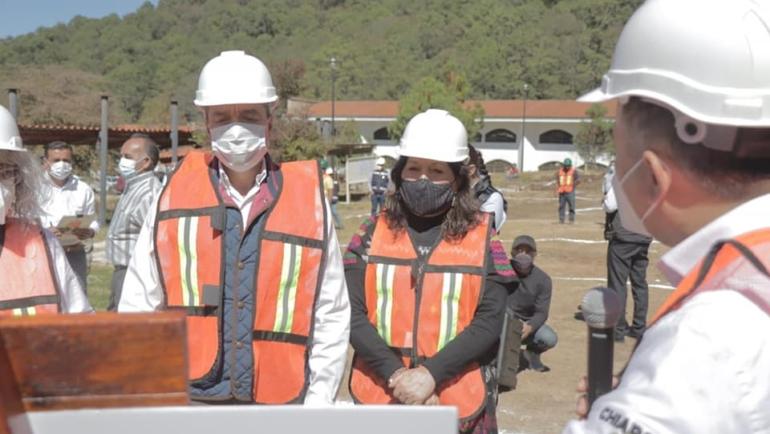 Encabeza gobernador Rutilio Escandón Cadenas inicio de construcción de nuevos edificios en la UNICH