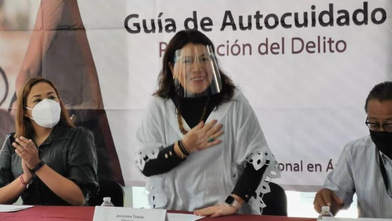 Lleva a cabo la Fiscalía General del Estado, la Jornada de Prevención y Participación Ciudadana 2021 en San Cristóbal de Las Casas