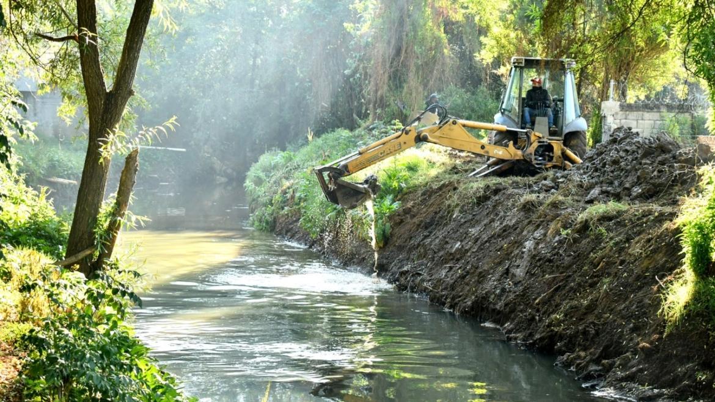 Inconciencia de algunas personas que arrojan basura al río Amarillo nos afecta en época de lluvias: colonos de La Isla