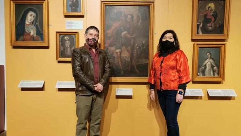 Ayuntamiento de San Cristóbal recupera colección de pinturas de los S. XVIII y XIX.