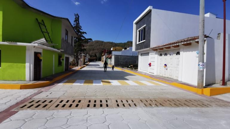 En la colonia Anexo 31 de Marzo se entrega obra de rehabilitación de drenaje sanitario