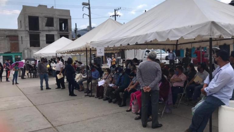 2° día de la Jornada de Vacunación contra la Covid-19 en San Cristóbal
