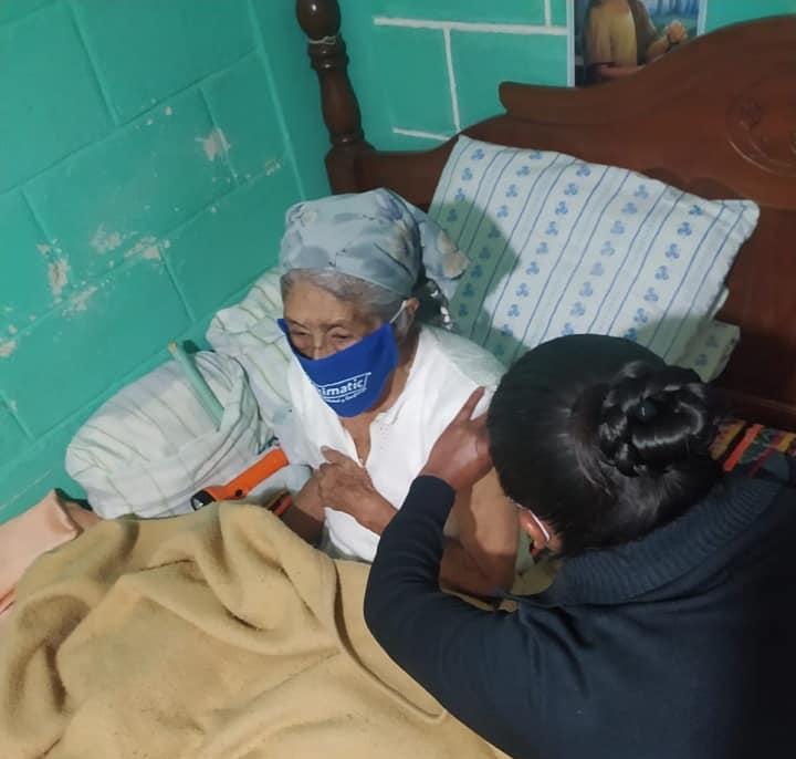 Apoya Protección Civil Municipal en jornada de vacunación domiciliaria extraordinaria a adultos mayores en SCLC