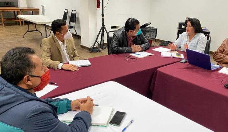 Presenta Ayuntamiento panorama actual de humedales de montaña a Secretaría de Medio Ambiente