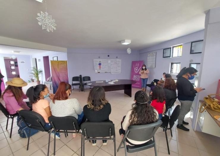 En el MAI San Cristóbal encontrarás acompañamiento y el espacio donde te sentirás segura: Psicóloga Laura Cruz