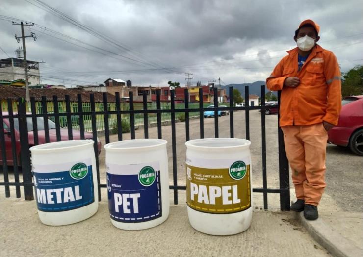 Participa San Cristóbal de Las Casas a la Jornada Estatal de Separación de Residuos Sólidos