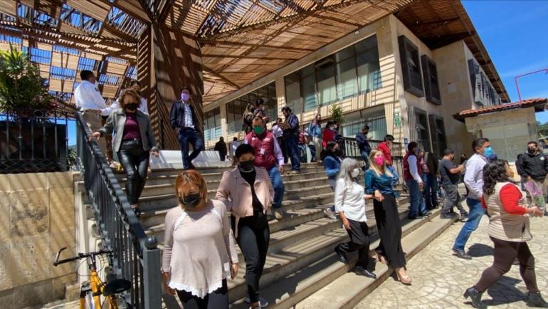 Participa Ayuntamiento de San Cristóbal en Simulacro Nacional 2021