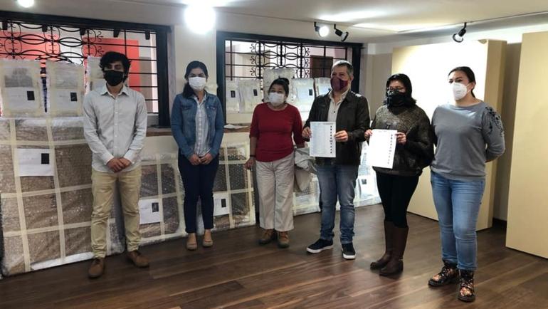 Histórico: INAH entrega óleos de los siglos XVIII y XIX al Ayuntamiento de San Cristóbal de Las Casas