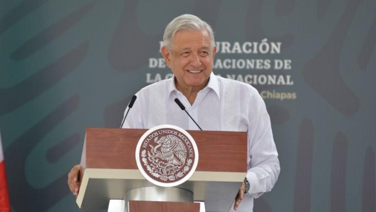 Inaugura Presidente Andrés Manuel López Obrador cuartel de la Guardia Nacional en San Cristóbal de Las Casas