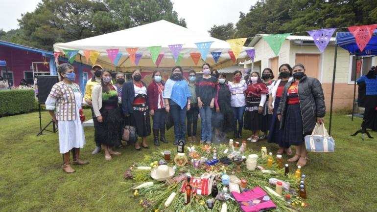 Mercadita de CEDECA La Albarrada cumple su primer Aniversario en San Cristóbal de Las Casas