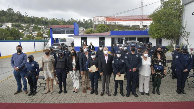 Capacitan a la Policía de San Cristóbal de Las Casas en materia de Derechos Humanos