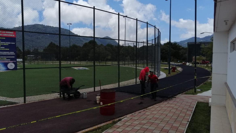 Exhorta Ayuntamiento de San Cristóbal de Las Casas a respetar los trabajos en la trotapista del SEDEM