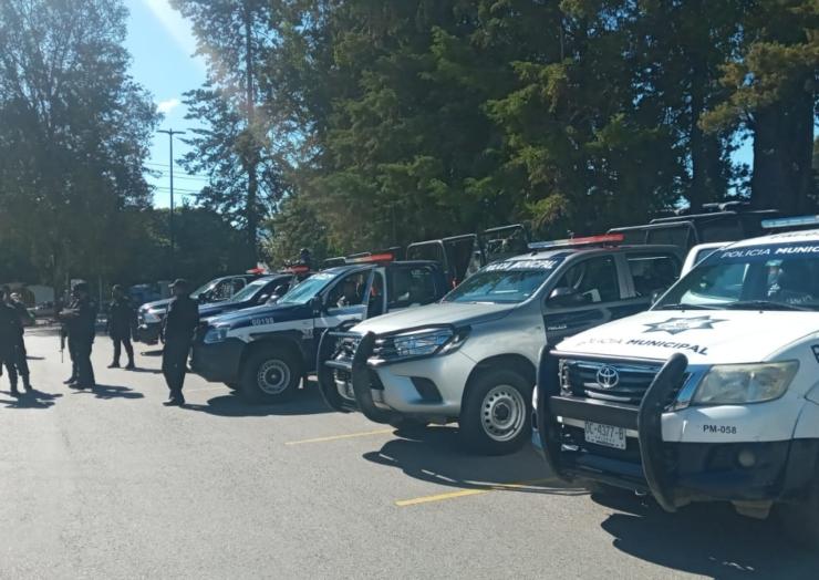 Implementa Policía reforzamiento de seguridad en zona norte de San Cristóbal