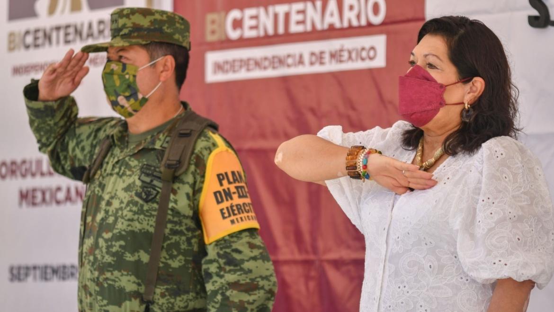 Conmemora Ayuntamiento de San Cristóbal de Las Casas Bicentenario de la Consumación de la Independencia de México